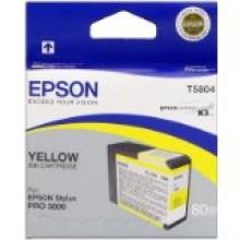 Epson Cartuccia d'inchiostro giallo C13T580400 T5804 80ml