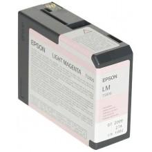 Epson Cartuccia d'inchiostro magenta chiara C13T580600 T5806 80ml