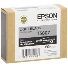 Epson Cartuccia d'inchiostro nero (chiaro) C13T580700 T5807 80ml
