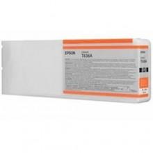 Epson Cartuccia d'inchiostro arancione C13T636A00 T636A00 700ml cartuccia Ultra Chrome HDR