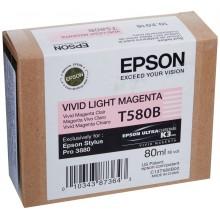 Epson Cartuccia d'inchiostro magenta (chiaro,vivid) C13T580B00 T580B 80ml