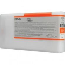 Epson Cartuccia d'inchiostro arancione C13T653A00 T653A 200ml