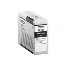 Epson Cartuccia d'inchiostro nero (foto) C13T850100 T850100 80ml