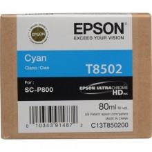 Epson Cartuccia d'inchiostro ciano C13T850200 T850200 80ml
