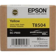 Epson Cartuccia d'inchiostro giallo C13T850400 T850400 80ml