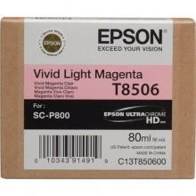 Epson Cartuccia d'inchiostro magenta (chiaro,vivid) C13T850600 T850600 80ml