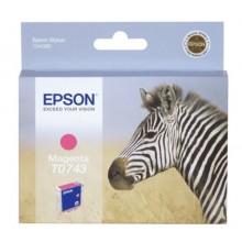 Epson Cartuccia d'inchiostro magenta C13T074340 T0743 5.1ml