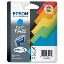 Epson Cartuccia d'inchiostro ciano C13T04224010 T0422 16ml