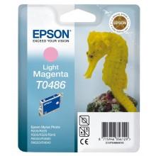 Epson Cartuccia d'inchiostro magenta chiara C13T04864010 T0486 13ml