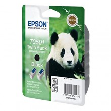 Epson Multipack nero C13T05014210 T0501 Twin Pack: 2 x 15 ml