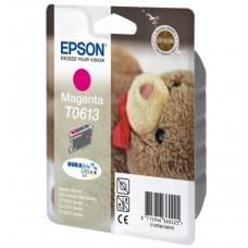 Epson Cartuccia d'inchiostro magenta C13T06134010 T0613 circa 370 pagine 8ml