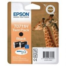 Epson Multipack nero C13T07114H10 T0711H Cartuccie d' inchiostro, Confezione doppia