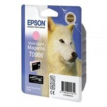 Epson Cartuccia d'inchiostro magenta (chiaro,vivid) C13T09664010 T0966 11.4ml