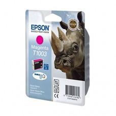 Epson Cartuccia d'inchiostro magenta C13T10034010 T1003 circa 625 pagine 11.1ml