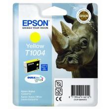 Epson Cartuccia d'inchiostro giallo C13T10044010 T1004 circa 910 pagine 11.1ml