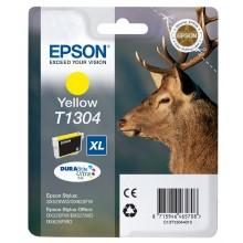 Epson Cartuccia d'inchiostro giallo C13T13044010 T1304 circa 755 pagine 10.1ml