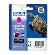 Epson Cartuccia d'inchiostro magenta (vivid) C13T15734010 T1573 25.9ml