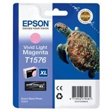 Epson Cartuccia d'inchiostro magenta (chiaro,vivid) C13T15764010 T1576 25.9ml