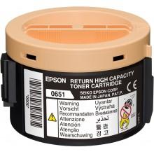 Epson toner nero C13S050651 0651 circa 2200 pagine cartuccia di stampa riutilizzabile