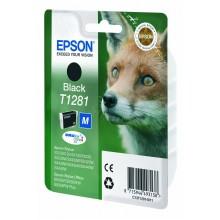 Epson Cartuccia d'inchiostro nero C13T12814011 T1281 circa 170 pagine 5.9ml