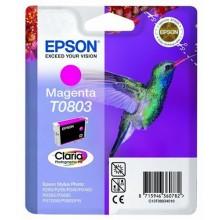 Epson Cartuccia d'inchiostro magenta C13T08034011 T0803 circa 460 pagine 7.4ml