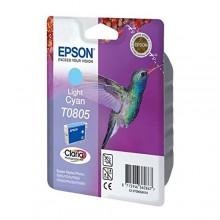 Epson Cartuccia d'inchiostro ciano (chiaro) C13T08054011 T0805 circa 350 pagine 7.4ml