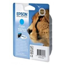 Epson Cartuccia d'inchiostro ciano C13T07124011 T0712 circa 345 pagine 5.5ml