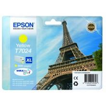 Epson Cartuccia d'inchiostro giallo C13T70244010 T7024 circa 2000 pagine XL
