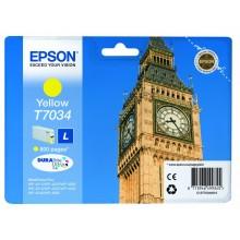 Epson Cartuccia d'inchiostro giallo C13T70344010 T7034 circa 800 pagine
