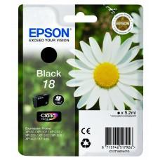 Epson Cartuccia d'inchiostro nero C13T18014010 T1801 circa 175 pagine 5.2ml standard