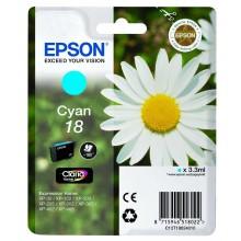 Epson Cartuccia d'inchiostro ciano C13T18024010 T1802 circa 180 pagine 3.3ml standard