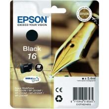 Epson Cartuccia d'inchiostro nero C13T16214010 T1621 circa 175 pagine 5.4ml standard