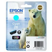 Epson Cartuccia d'inchiostro ciano C13T26124010 T2612 circa 300 pagine 4.5ml standard