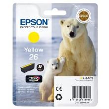 Epson Cartuccia d'inchiostro giallo C13T26144010 T2614 circa 300 pagine 4.5ml standard
