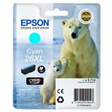 Epson Cartuccia d'inchiostro ciano C13T26324010 T2632 circa 700 pagine 9.7ml Cartuccie d'inchiostro XL