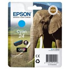 Epson Cartuccia d'inchiostro ciano C13T24224010 T2422 circa 360 pagine 4.6ml