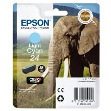 Epson Cartuccia d'inchiostro ciano (chiaro) C13T24254010 T2425 circa 360 pagine 5.1ml