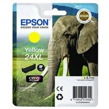 Epson Cartuccia d'inchiostro giallo C13T24344010 T2434 circa 740 pagine 8.7ml XL