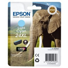 Epson Cartuccia d'inchiostro ciano (chiaro) C13T24354010 T2435 circa 740 pagine 9.8ml XL