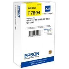 Epson Cartuccia d'inchiostro giallo C13T789440 T7894 circa 4000 pagine 34.2ml XXL