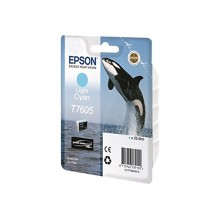 Epson Cartuccia d'inchiostro ciano (chiaro) C13T76054010 T7605 circa 2400 pagine 25.9ml UltraChrome HD