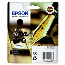 Epson Cartuccia d'inchiostro nero C13T16814010 T1681 circa 1000 pagine 21.6ml XXL Patrone