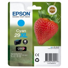 Epson Cartuccia d'inchiostro ciano C13T29924010 T2992 circa 450 pagine 6.4ml XL