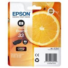 Epson Cartuccia d'inchiostro nero (foto) C13T33414010 T3341 4.5ml