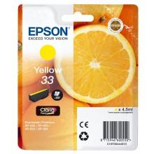 Epson Cartuccia d'inchiostro giallo C13T33444010 T3344 circa 300 pagine 4.5ml