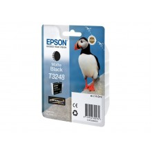 Epson Cartuccia d'inchiostro Nero (opaco) C13T32484010 T3248 circa 650 pagine 14ml
