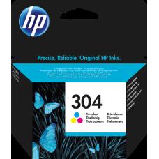 HP 304 (N9K05AE 304) Cartuccia tricolore Originale