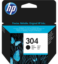 HP 304 (N9K06AE) Cartuccia nero Originale
