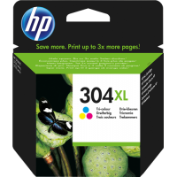 HP 304 (N9K07AE 304 XL) Cartuccia tricolore Originale