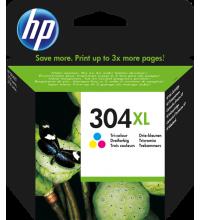HP 304 (N9K07AE 304 XL) Cartuccia tricolore Originale